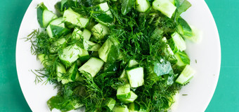 cucumber-and-sorrel-salad
