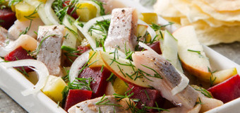 tartar-salad-with-herring-and-pineapple